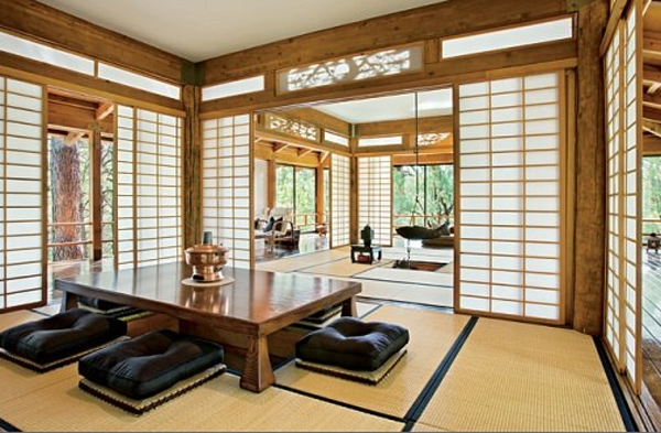 "An old-school traditional Japanese living room table. Many homes are more ""modern/Western"" now, to some degree."