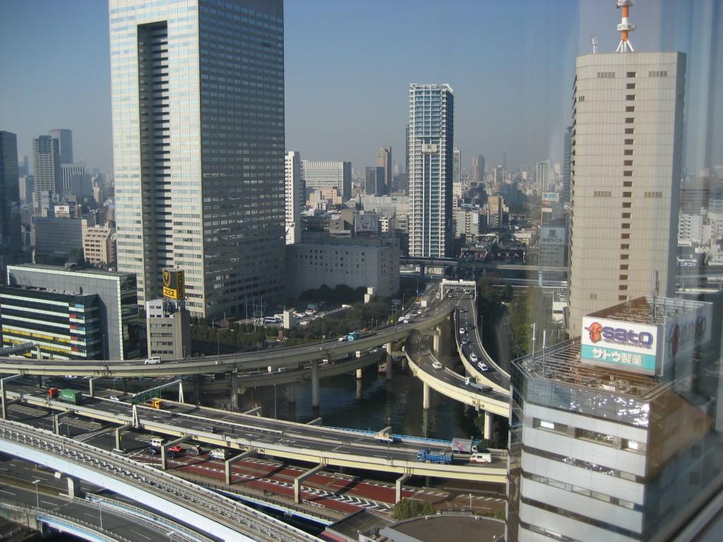 Minato Ward, a port city along Tokyo Bay.