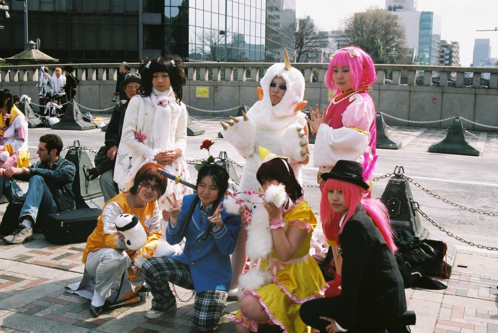 Cosplay in Harajuku. (Photo: International Colleges Japan)
