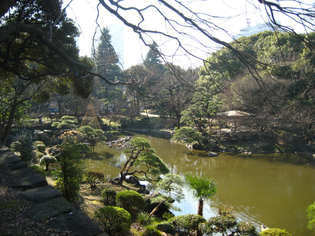 A lake in Hibiya Park. (Photo: Brian Cramer)