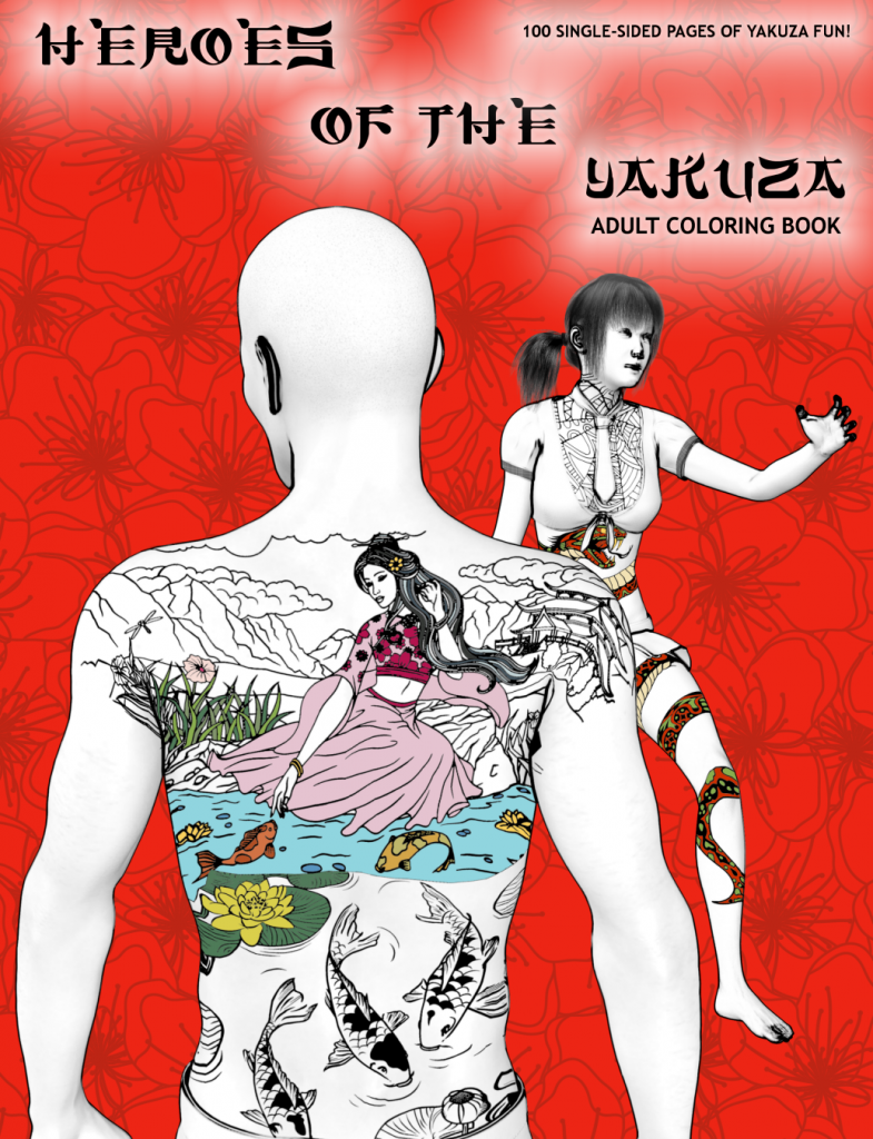 Heroes of the Yakuza Cover